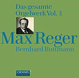 Max Reger: Das gesamte Orgelwerk Vol. 3 (4CD, Oehms)