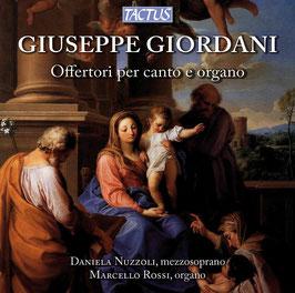 Giuseppe Giordani: Offertori per canto e organo (Tactus)