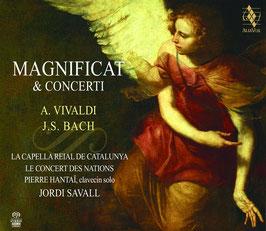 Johann Sebastian Bach, Antonio Vivaldi: Magnificat, Concerti (SACD, DVD, Alia Vox)