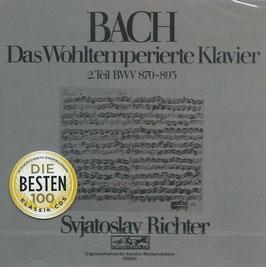 Johann Sebastian Bach: Das Wohltemperierte Klavier 2.Teil (2CD, Sony)