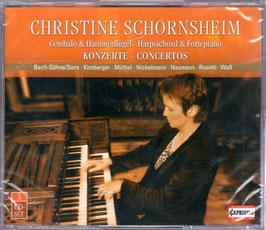 Concertos for Harpsichord & Fortepiano, Bach Sons, Kirnberger, Müthel, Nichelmann, Naumann, Rosetti, Wolf (3CD, Capriccio)