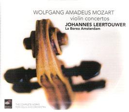 Wolfgang Amadeus Mozart: Violin Concertos (2CD, Challenge Classics)