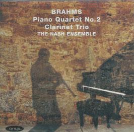 Johannes Brahms: Clarinet Trio, Piano Quartet No. 2 (Onyx)