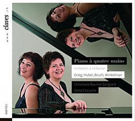 Invitation á la Danse: Grieg, Huber, Bruch, Winkelman (Claves)
