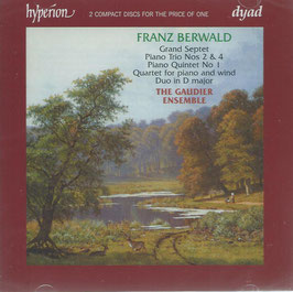 Franz Berwald: Chamber Music (2CD, Hyperion)