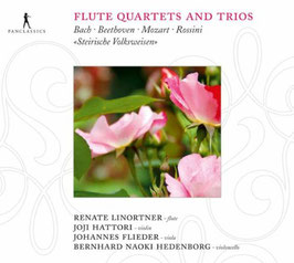 Flute Quartets and Trios: Bach, Beethoven, Mozart, Rossini (Pan Classics)