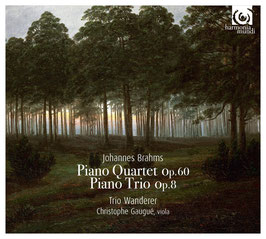 Johannes Brahms: Piano Quartet op. 60, Piano Trio op. 8 (Harmonia Mundi)