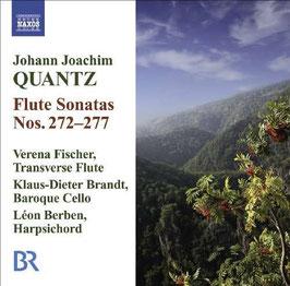 Johann Joachim Quantz: Flute Sonatas Nos. 272-277 (Naxos)