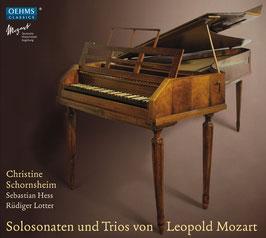 Leopold Mozart: Solosonaten und Trios (2CD, Oehms)