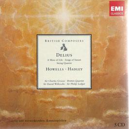 British Composers: Delius, Howells, Hadley (5CD, EMI)