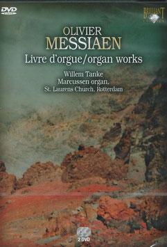Olivier Messiaen: Livre d'Orgue (2DVD, Brilliant)