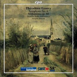 Théodore Gouvy: Symphony No. 6, Sinfonietta op. 80 (CPO)