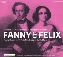 Felix Mendelssohn-Bartholdy, Fanny Hensel: Klaviertrios (Raumklang)