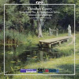 Théodore Gouvy: Symphony No. 4, Symphonie brève, Fantaisie symphonique (CPO)