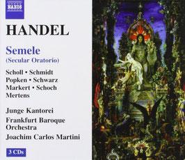 Georg Friedrich Händel: Semele (3CD, Naxos)