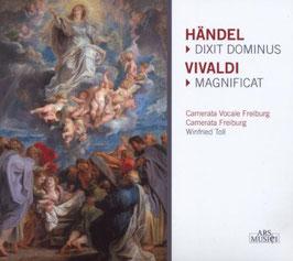Georg Friedrich Händel: Dixit Dominus, Antonio Vivaldi: Magnificat (Ars Musici)