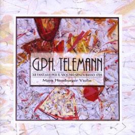 Georg Philipp Telemann: XII Fantasie per il Violino senza Basso 1735 (Maya)