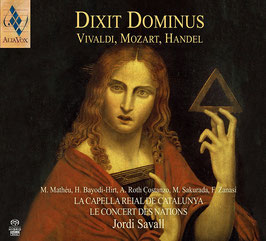 Antonio Vivaldi, Wolfgang Amadeus Mozart, Georg Friedrich Handel: Dixit Dominus (SACD, Alia Vox)