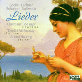 Louis Spohr, Franz Lachner, Franz Schubert, Johann Wenzel Kalliwoda: Lieder (Pan Classics)