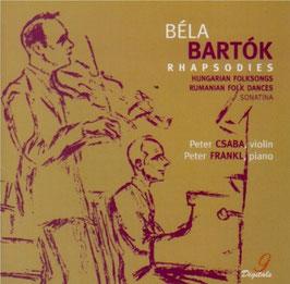 Béla Bartók: Rhapsodies, Hungarian folksongs, Rumanian folk dances, Sonatina (SACD, Praga)