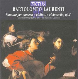 Bartolomeo Laurenti: Suonate per camera e violino, e violoncello, op. 1 (Tactus)