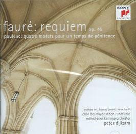 Gabriel Fauré: Requiem op. 48, Francis Poulenc: Quatre motets pour un temps de pénitence (Sony)