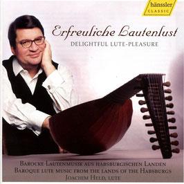 Erfreuliche Lautenlust, Barocke Lautenmusik aus Habsburgischen Landen (Hänssler)