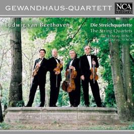 Ludwig van Beethoven: Die Streichquartette op. 18/5, op. 18/6 (NCA Classical)