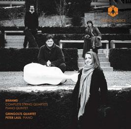 Johannes Brahms: Complete String Quartets & Piano Quintet (2CD, Orchid Classics)