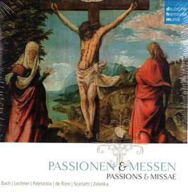 Passionen & Messen: Bach, Lechner, Palestrina, De Rore, Scarlatti, Zelenka (10CD, Deutsche Harmonia Mundi)