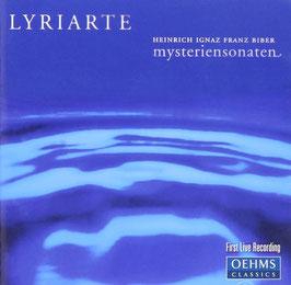 Heinrich Ignaz Franz Biber: Mysteriensonaten (2CD, Oehms)