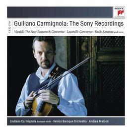 Giuliano Carmignola: The Sony Recordings, Vivaldi, Locatelli, Bach (7CD, Sony)
