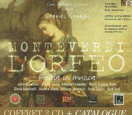 Claudio Monteverdi: L'Orfeo, Favola in musica (2CD, K617)