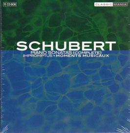 Franz Schubert: Piano Sonatas (complete), Impromptus, Moments Musicaux (11CD, Classic Mania)
