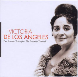 Victoria de los Angeles, The Discreet Triumph (10CD, Documents)