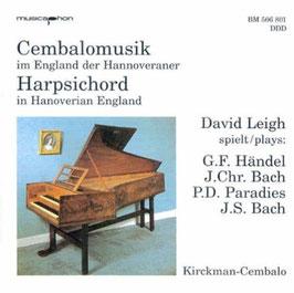 Harpsichord in Hanoverian England (Musicaphon)