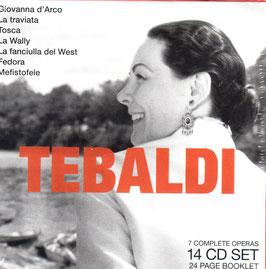 Tebaldi: 7 Complete Operas (14CD, Bravissimo)