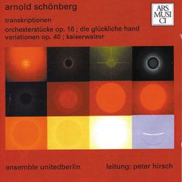 Arnold Schönberg: Trankriptionen (Ars Musici)