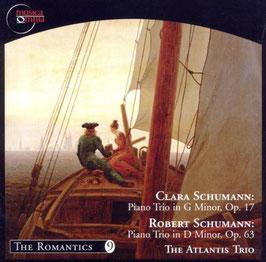 Robert Schumann: Piano Trio in D Minor Op. 63, Clara Schumann: Piano Trio in G Minor, Op. 17 (Muscia Omnia)