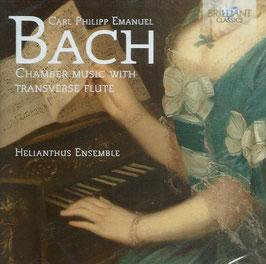 Carl Philipp Emanuel Bach: Chamber Music with Transverseflute (Brilliant)