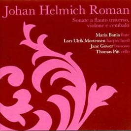 Johan Helmich Roman: Sonate a flauto traverso, violone e cembalo (2CD, Caprice)
