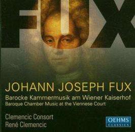 Johann Joseph Fux: Concento musico-instrumentalis, Barocke Kammermusik am Wiener Kaiserhof (Oehms)