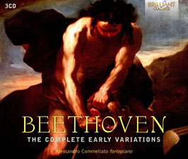 Ludwig van Beethoven: The Cello Early Variations (3CD, Brilliant)