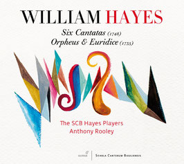 William Hayes: Six Cantatas, Orpheus & Euridice (2CD, Glossa)