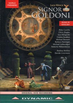 Luca Mosca: Signor Goldoni (DVD, Dynamic)