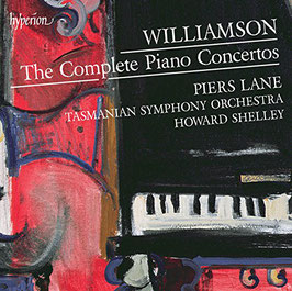Malcolm Williamson: The Complete Piano Concertos (2CD, Hyperion)