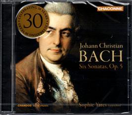 Johann Christian Bach: Six Sonatas, Op. 5 (Chandos)