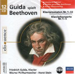 Ludwig van Beethoven: Klaviersonaten Nr. 1-32, Klavierkonzerte Nr. 1-5, Gesamtaufname (12CD, Decca Eloquence)