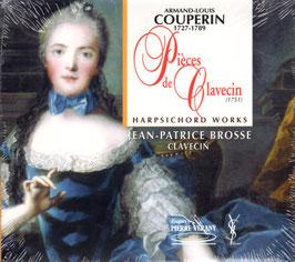 Armand-Louis Couperin: Pièces de Clavecin 1751 (Pierre Verany)