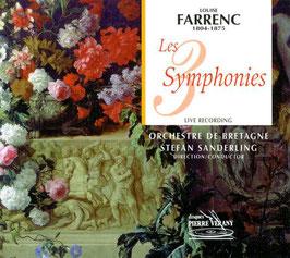 Louise Farrenc: Les 3 Symphonies (2CD, Pierre Verany)